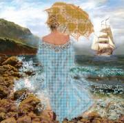 Рисунок на ткани для вышивки бисером Магия моря