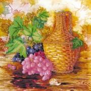 Рисунок на ткани для вышивки бисером Виноградная лоза
