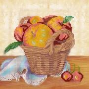Рисунок на ткани для вышивки бисером Летний урожай