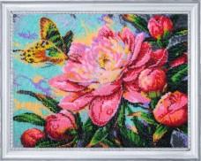 Набор для вышивки бисером Аромат пиона Баттерфляй (Butterfly) 243Б