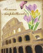 Схема вышивки бисером на атласе Рим