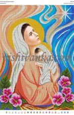 Рисунок на габардине для вышивки бисером Блага вість Вишиванка А2-060