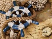 Набор для выкладки алмазной мозаикой Капитанский штурвал