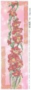 Схема вышивки бисером на атласе Панно Гладиолусы