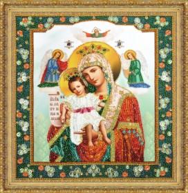Набор для вышивки бисером Икона Божией Матери Достойно есть Картины бисером Р-353 - 855.00грн.