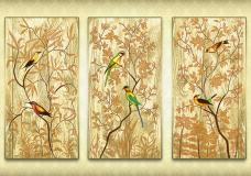 Схема для вышивки бисером на атласе Райский сад А-строчка АР2-010