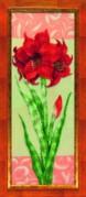 Набор для вышивки бисером Гиппеаструм красный