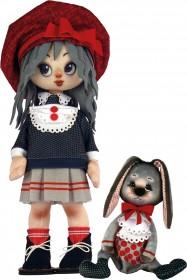 Набор для шитья куклы и мягкой игрушки Девочка с зайкой Zoosapiens К1073Z - 595.00грн.