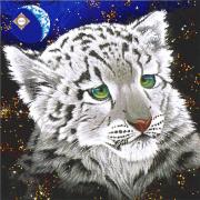 Схема для вышивки бисером на атласе Звездный тигренок