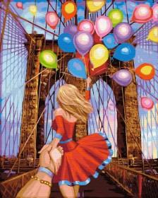 Набор для выкладки алмазной мозаикой Следуй за мной: Бруклинский мост