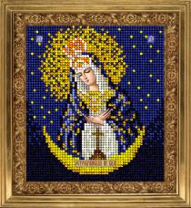 Набор для вышивки ювелирным бисером Икона Остробрамская Краса и творчiсть 71213