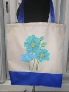 Эко сумка для вышивки бисером Мальвина 34