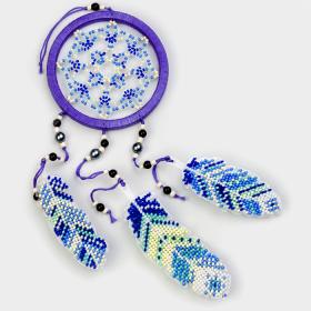 Набор для вышивания бисером на пластиковой основе Ловец снов Волшебная страна FLPL-032 - 270.00грн.