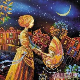 Схема для вышивки бисером Колыбельная на ночь