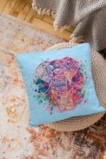 Набор для вышивки подушки Слон Абрис Арт АНР-001