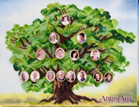 Набор для вышивки бисером на холсте Родовое древо Абрис Арт АВ-697 - 538.00грн.