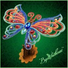 Набор для вышивки бисером Ажурная бабочка 3D 089 Вдохновение BGP-089