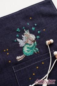 Набор для вышивки крестом на одежде В пижамке Абрис Арт АНО-004 - 115.00грн.