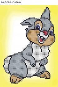 Схема для вышивки бисером на габардине Зайка Acorns А6-Д-008 - 23.00грн.