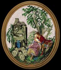 Набор для вышивки бисером Приятный уголок Краса и творчiсть 30815