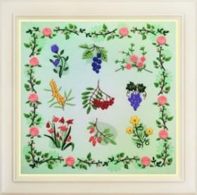 Набор для вышивки нитками (стиль Rococo) Лето. Семплер OLANTA R - 041 - 290.00грн.