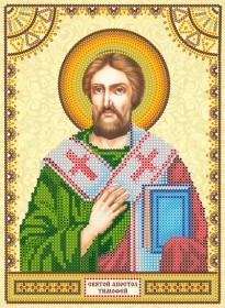 Схема для вышивки бисером на холсте Святой Тимофей