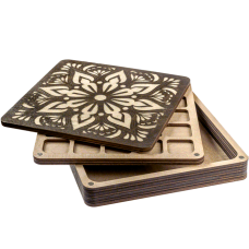 Органайзер для бисера многоярусный с крышкой FLZB-088 Волшебная страна FLZB-088
