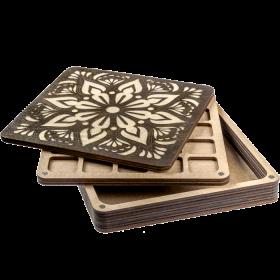 Органайзер для бисера многоярусный с крышкой FLZB-088 Волшебная страна FLZB-088 - 490.00грн.