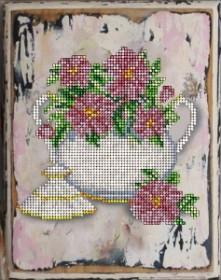 Набор вышивки бисером Цветы 15