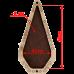 Шкатулка для рукоделия Ножницы Волшебная страна FLZB(N)-024