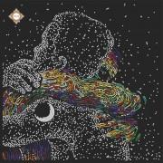 Схема вышивки бисером на атласе Вселенная Любви