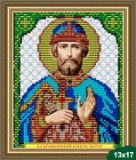 Рисунок на ткани для вышивки бисером Святой Князь Пётр