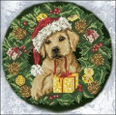 Набор для вышивания нитками Рождественские истории 24М Краса и творчiсть 50917