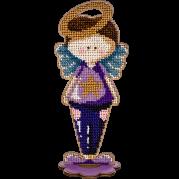 Набор для вышивки бисером по дереву Ангел Мальчик