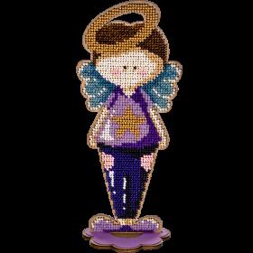 Набор для вышивки бисером по дереву Ангел Мальчик Волшебная страна FLK-250 - 216.00грн.