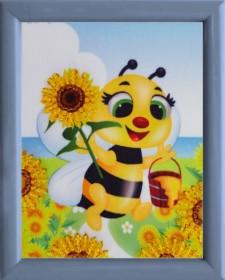 Схема для вышивки бисером Пчелка Баттерфляй (Butterfly) СМ031 - 12.00грн.