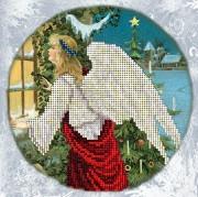 Набор для вышивки ювелирным бисером Рождественские истории 9