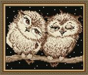Набор для выкладки алмазной мозаикой Совушки