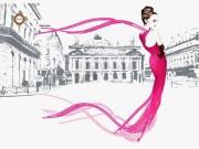 Схема для вышивки бисером на атласе Неделя моды