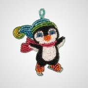 Набор для вышивки подвеса Пингвинчик