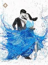 Схема для вышивки бисером THE LOVERS DANCE Миледи СЛ-3388