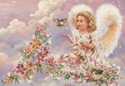 Набор для выкладки алмазной мозаикой Ангел