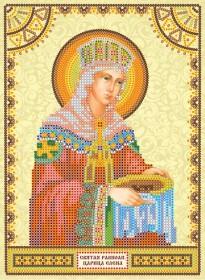 Схема для вышивки бисером на холсте святая Елена