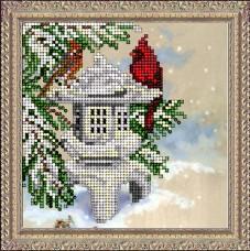 Набор для вышивки ювелирным бисером Новогодняя иллюзия Краса и творчiсть 21015