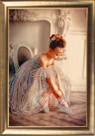 Набор для вышивания бисером Балеринка Баттерфляй (Butterfly) 825Б - 226.00грн.