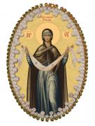 Набор для изготовления подвески Покров Пресвятой Богородицы