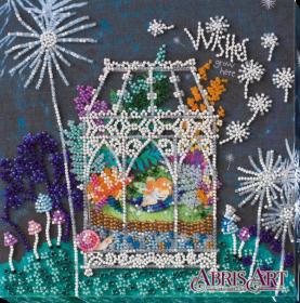 Набор-миди для вышивки бисером на натуральном художественном холсте Колыбель мечты, , 219.00грн., АМВ-012, Абрис Арт, Пейзажи
