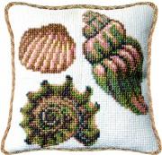 Набор для вышивки подушки крестиком Морское дно