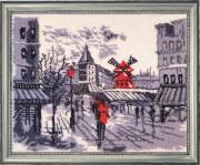 Набор для вышивки бисером Мулен Руж в Париже (по картине О. Дарчук)