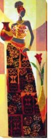 Набор для вышивки бисером Африка 3, , 406.00грн., АВ-468, Абрис Арт, Картины из нескольких частей